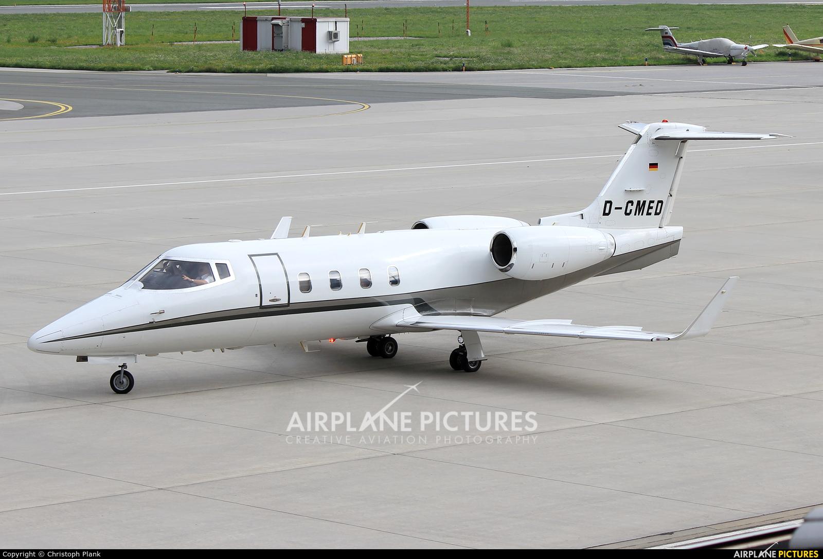 Quick Air Jet Charter D-CMED aircraft at Innsbruck