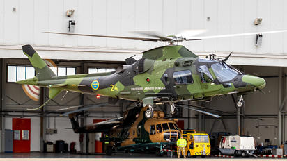 24 - Sweden - Air Force Agusta / Agusta-Bell A 109 Hkp15A