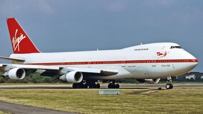 G-VJFK - Virgin Atlantic Boeing 747-200
