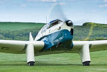 G-AEEG - Private Miles M.3A Falcon