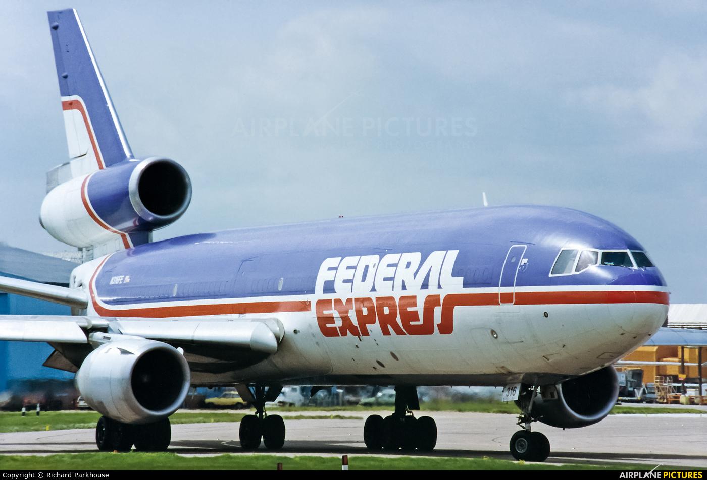FedEx Federal Express N316FE aircraft at London - Heathrow