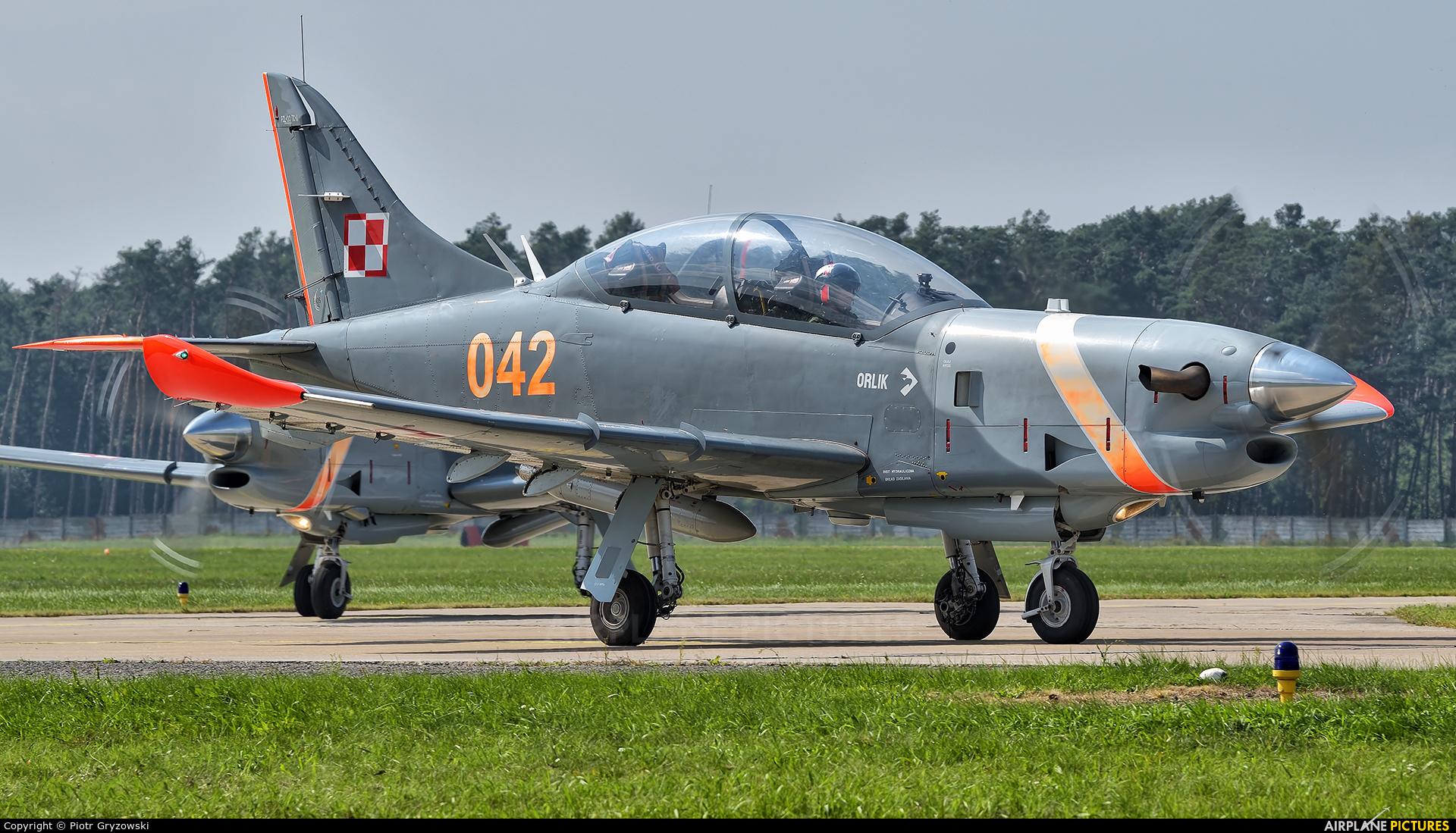 "Poland - Air Force ""Orlik Acrobatic Group"" 042 aircraft at Malacky - Kuchyna"