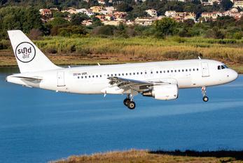 9A-BER - Sundair Airbus A319