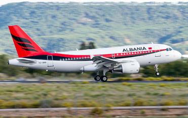 TC-ANA - Albania - Government Airbus A319 CJ