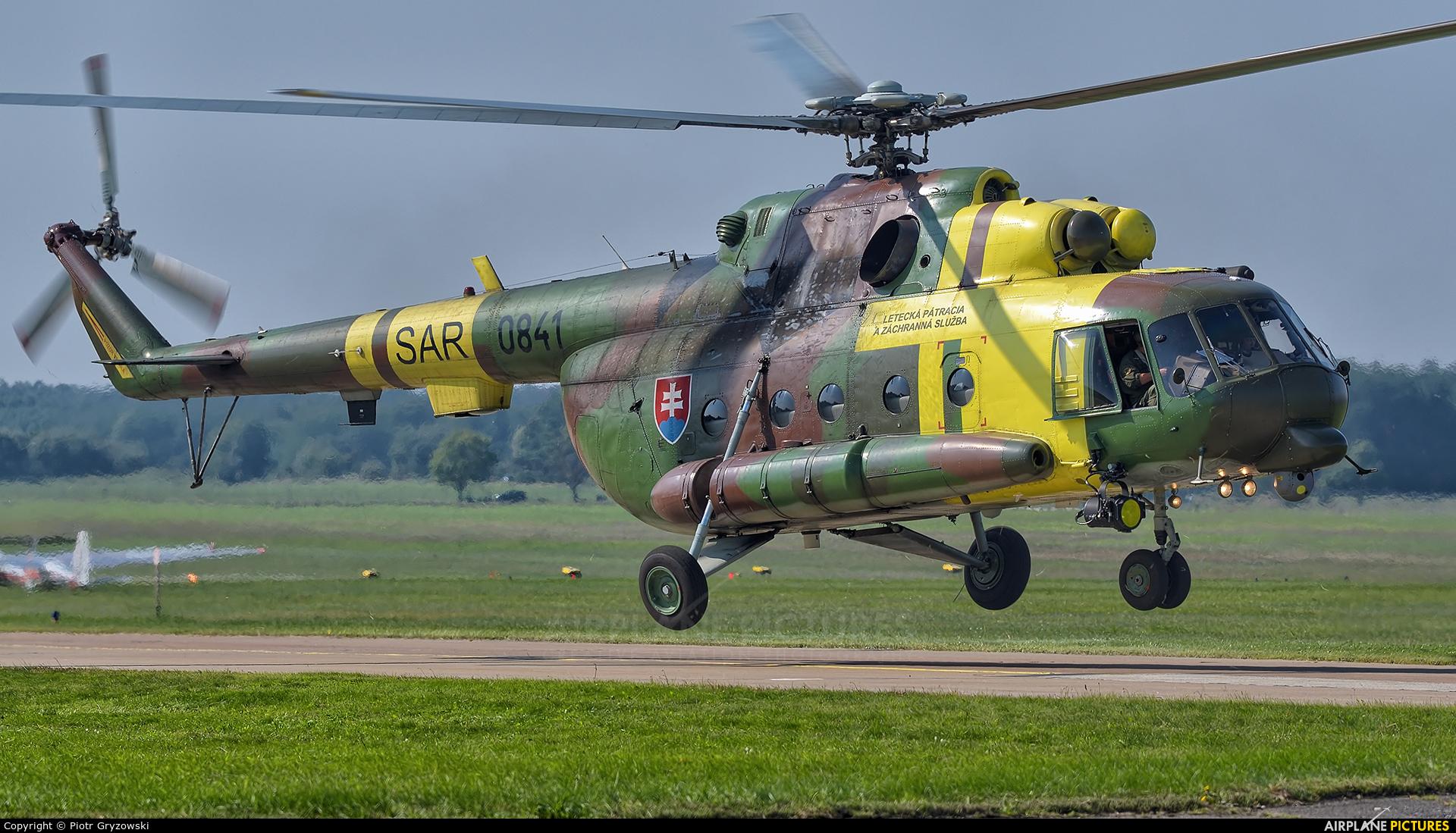 Slovakia -  Air Force 0841 aircraft at Malacky - Kuchyna
