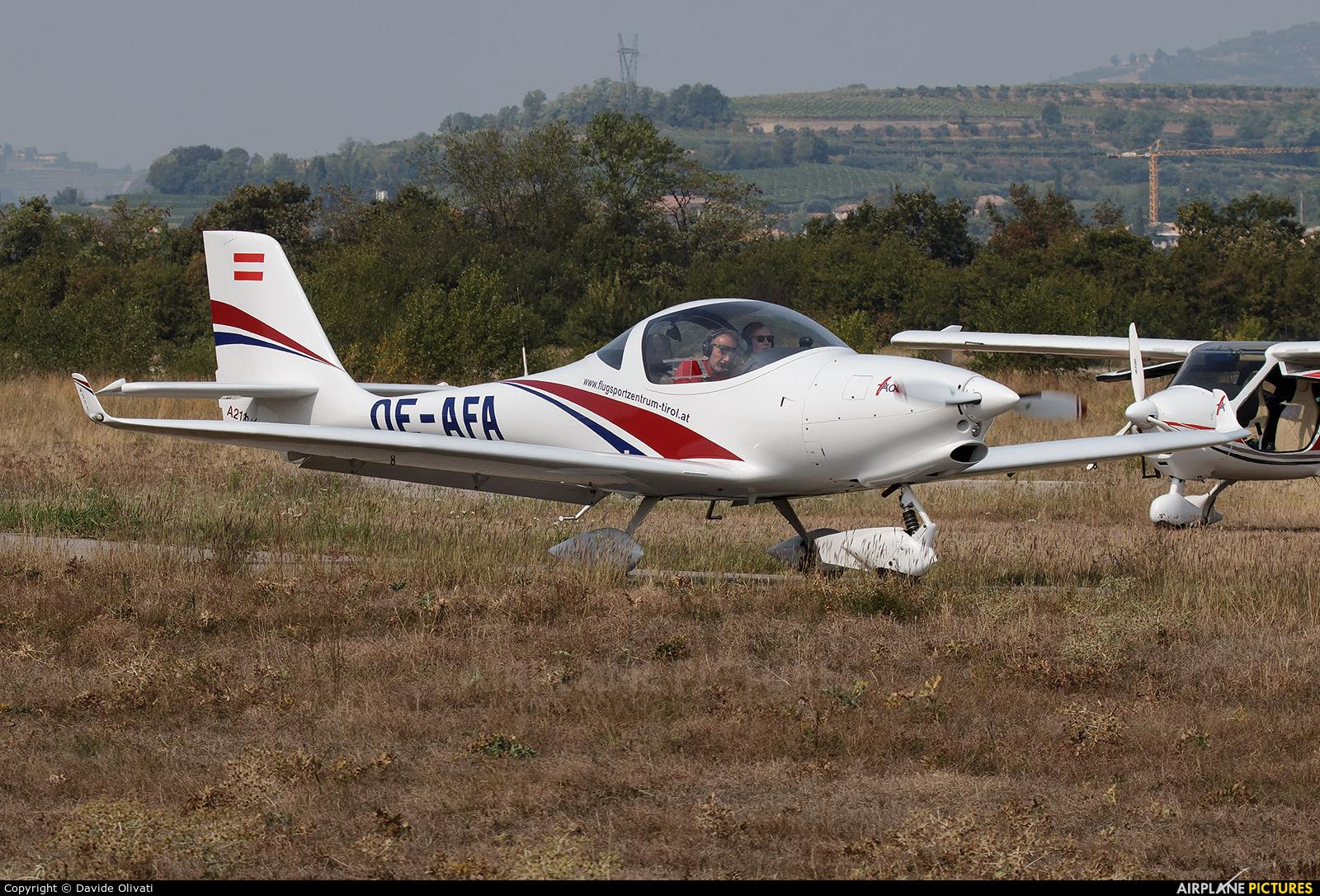 Private OE-AFA aircraft at Verona - Boscomantico