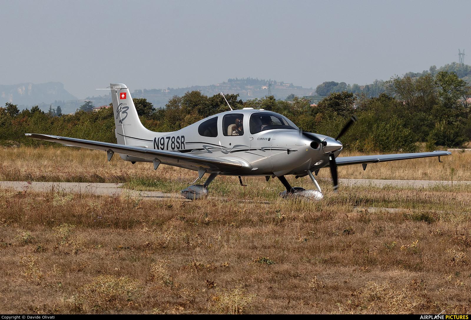 Private N978SR aircraft at Verona - Boscomantico