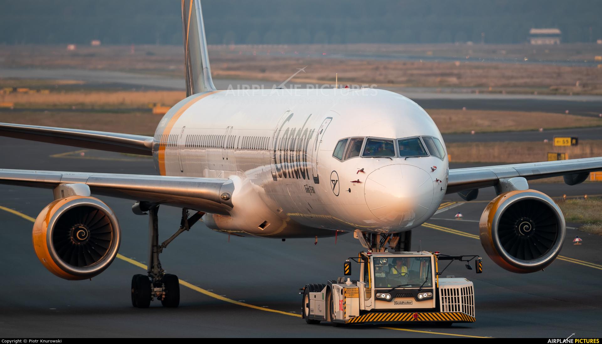 Condor D-ABOA aircraft at Frankfurt