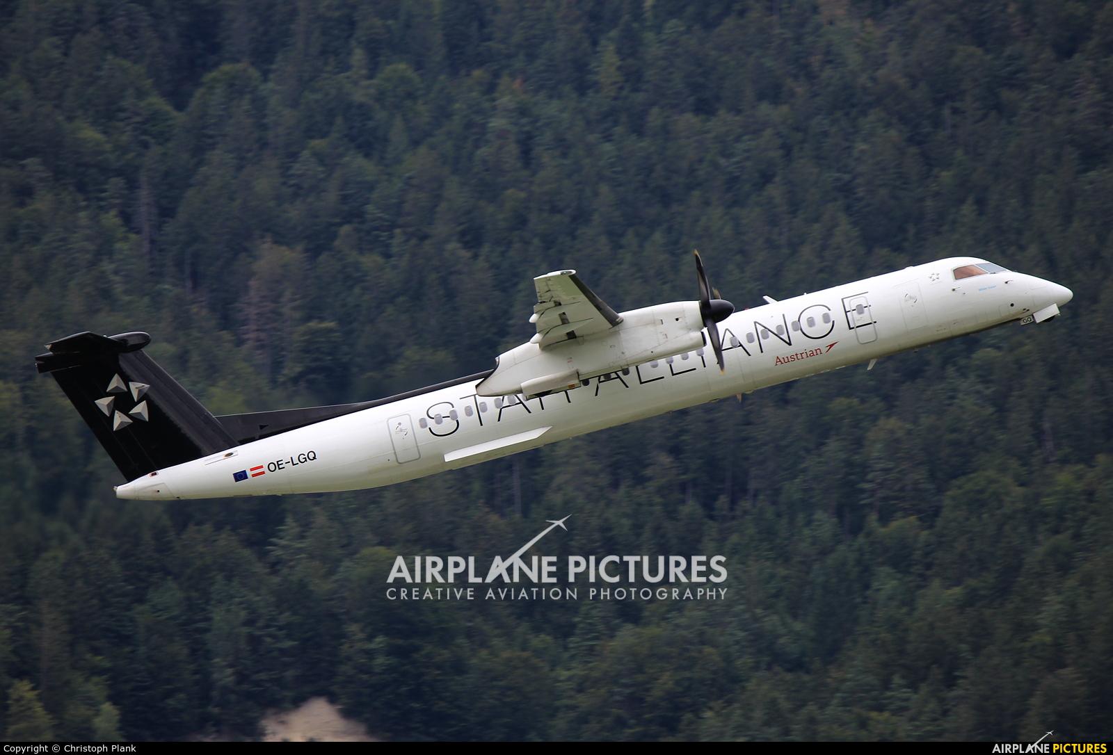 Austrian Airlines/Arrows/Tyrolean OE-LGQ aircraft at Innsbruck