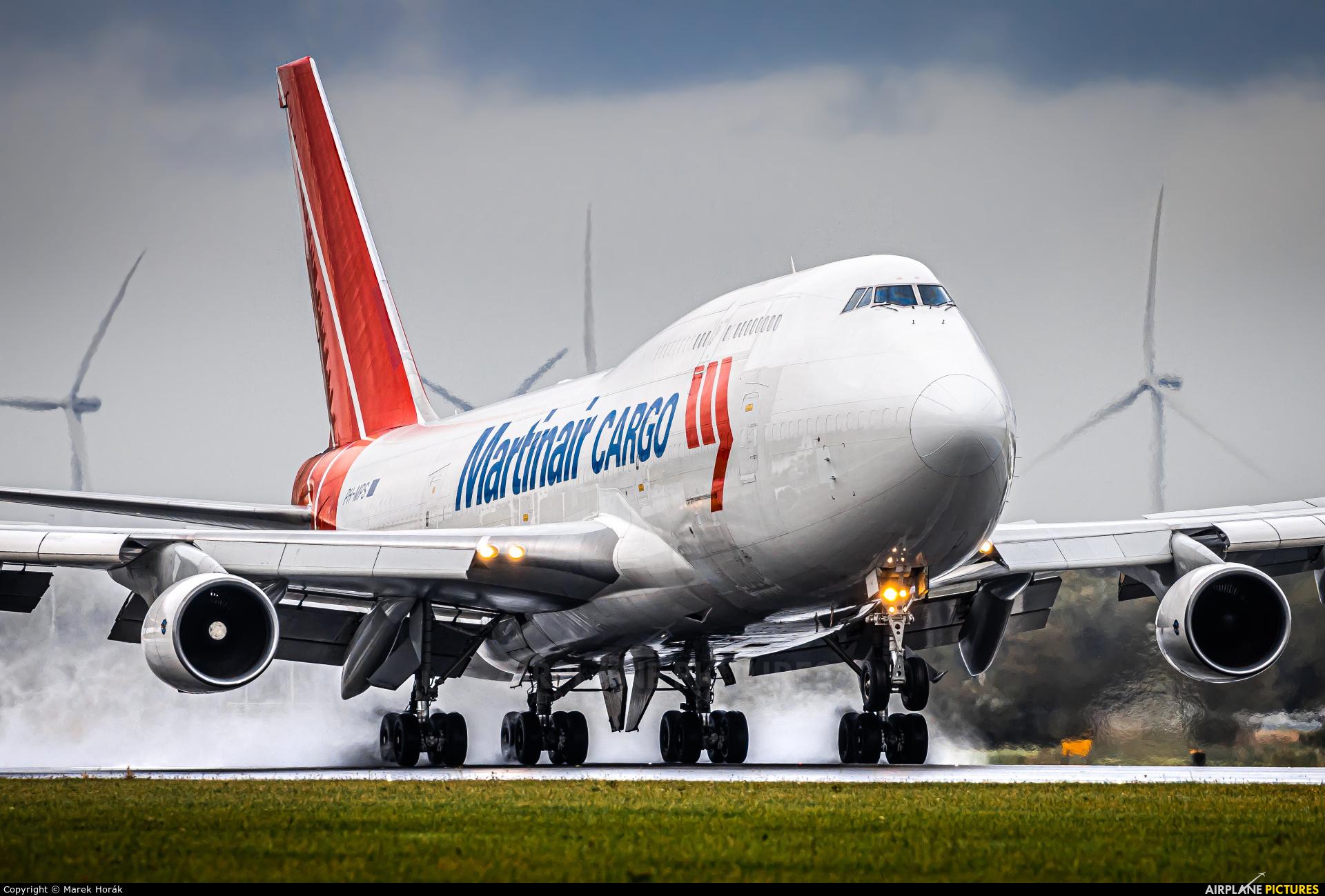 Martinair Cargo PH-MPS aircraft at Amsterdam - Schiphol