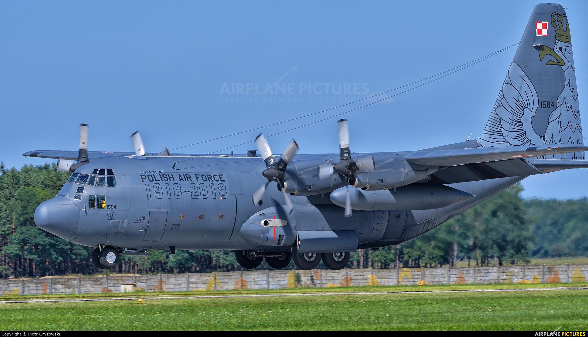 Poland - Air Force 1504 aircraft at Malacky - Kuchyna