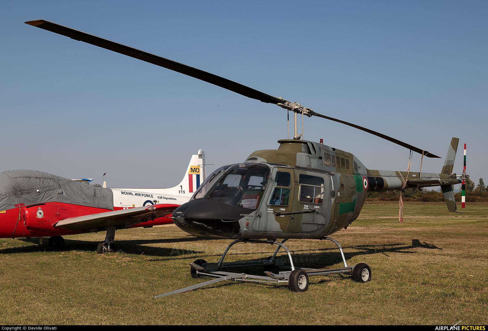 Italy - Army MM aircraft at Montagnana