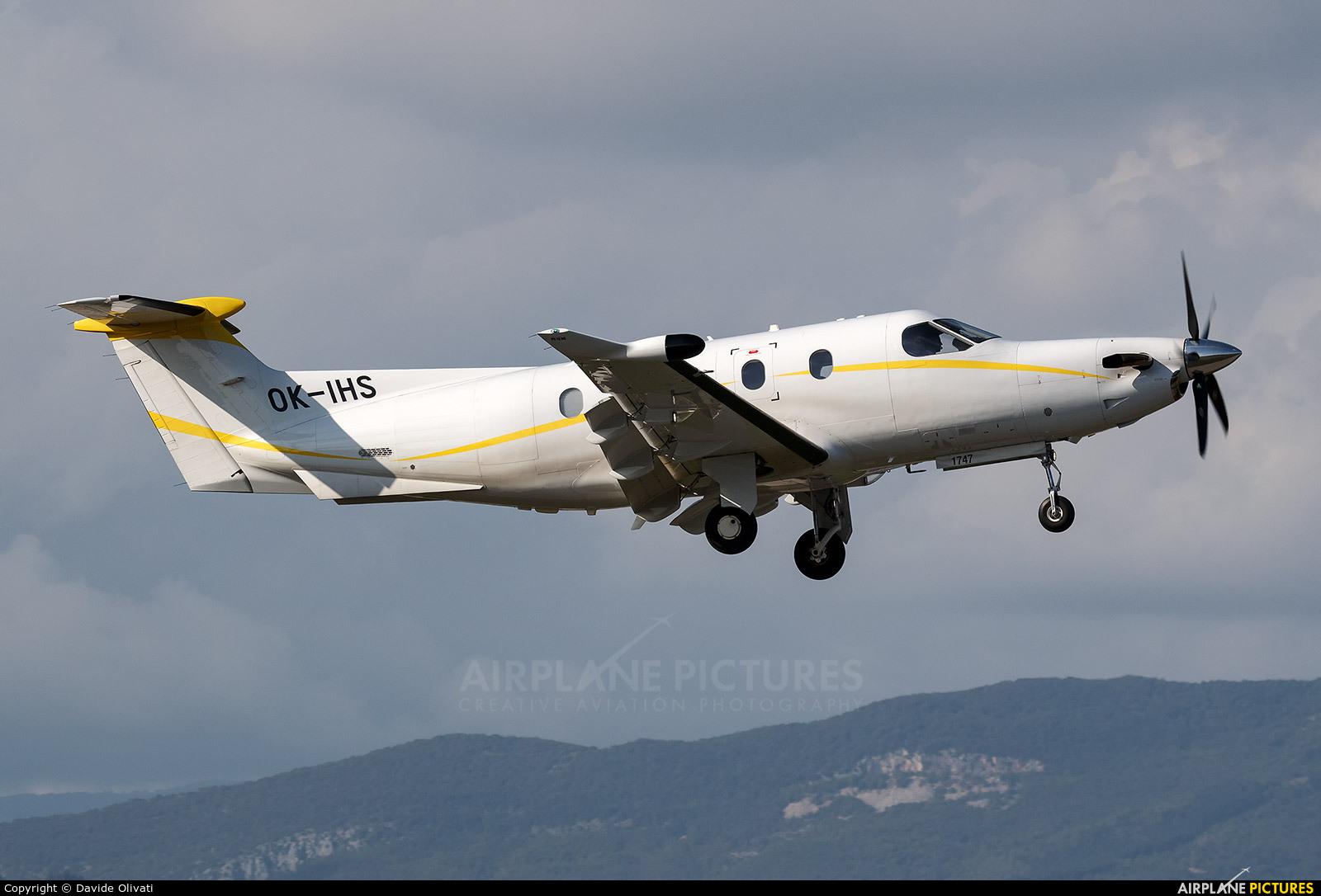 Private OK-IHS aircraft at Verona - Boscomantico