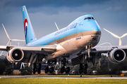 HL7624 - Korean Air Cargo Boeing 747-8F aircraft