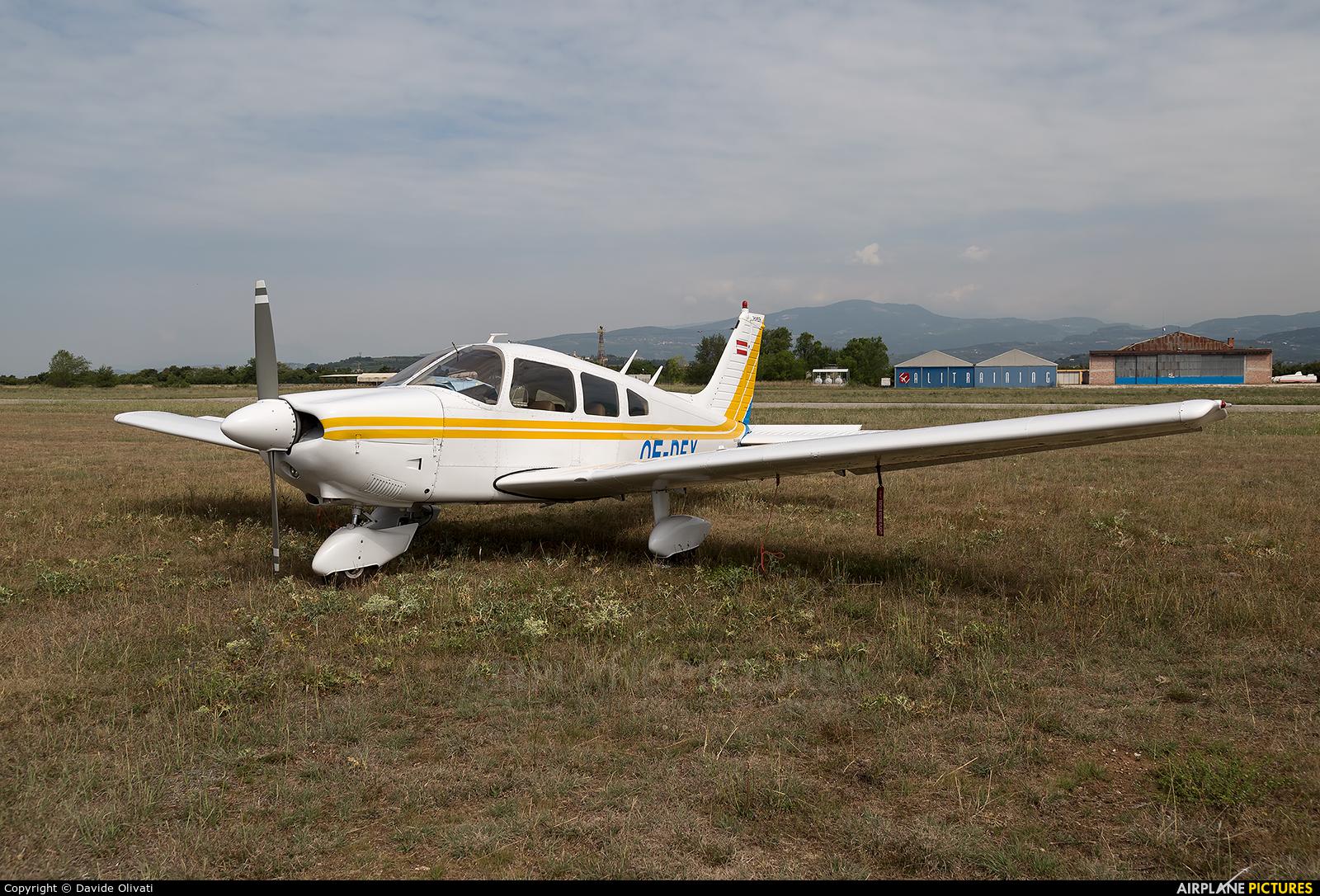 Private OE-DFX aircraft at Verona - Boscomantico