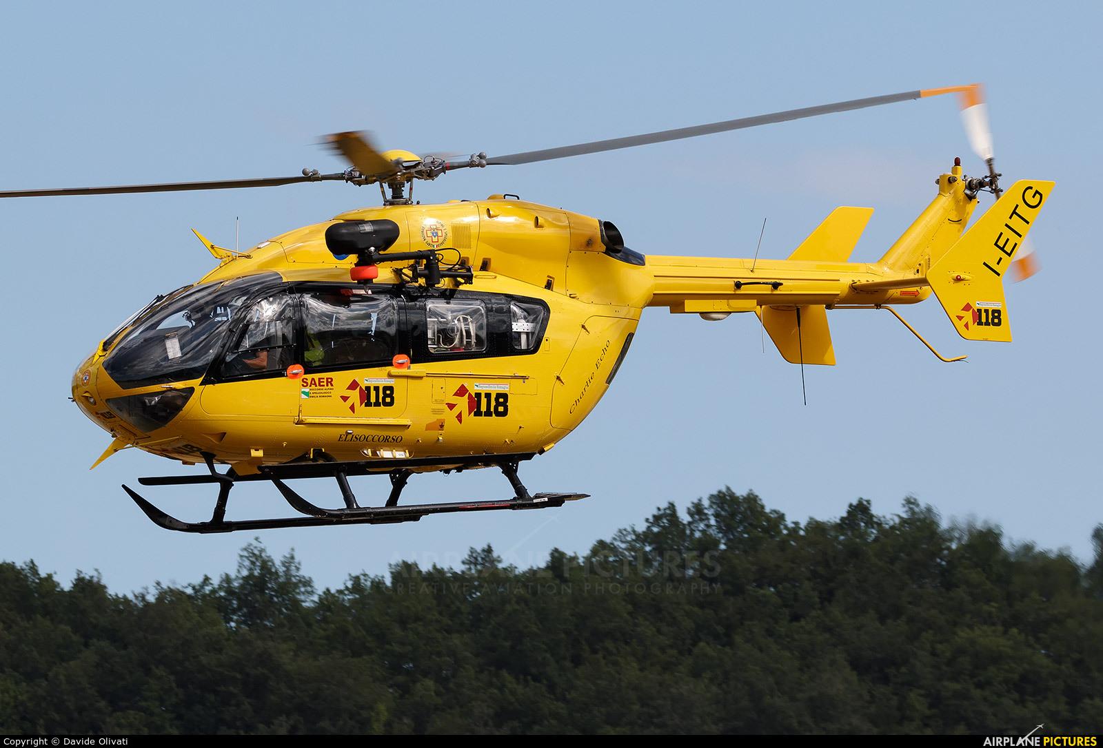 Babcok M.C.S Italia I-EITG aircraft at Pavullo nel Frignano