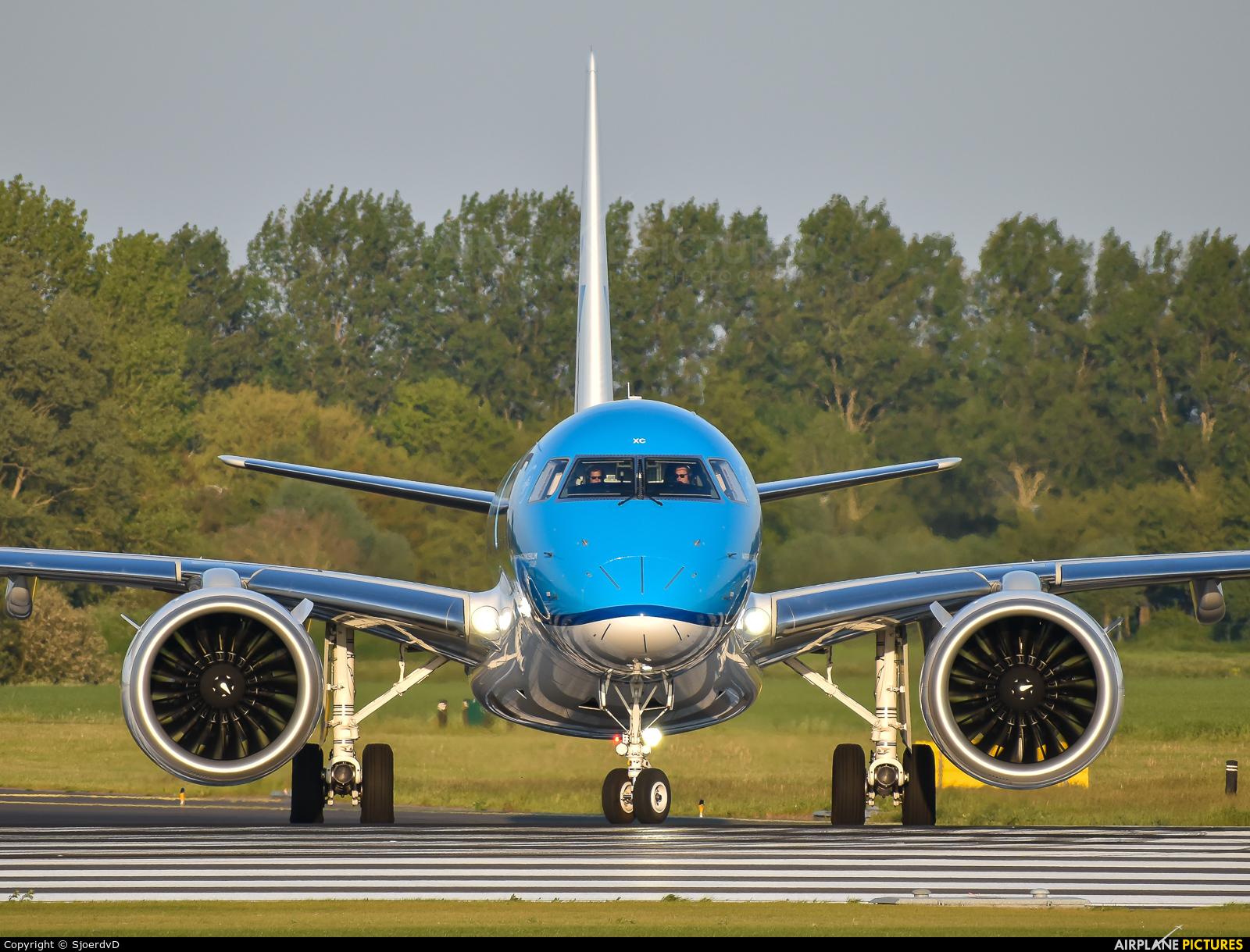 KLM PH-NXC aircraft at Amsterdam - Schiphol