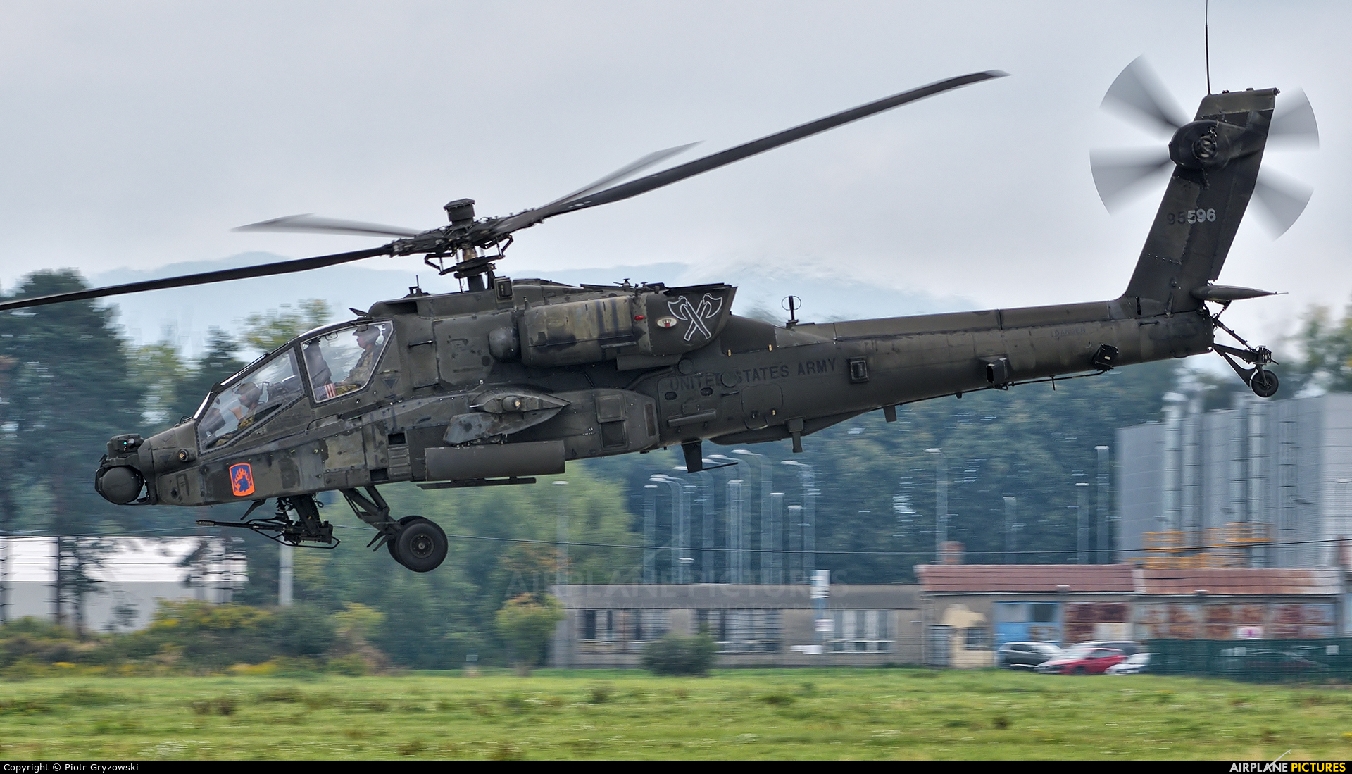 USA - Army 09-05596 aircraft at Ostrava Mošnov
