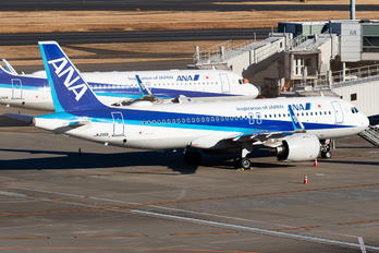 JA215A - ANA - All Nippon Airways Airbus A320 NEO