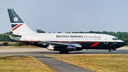 G-BKYG - British Airways Boeing 737-200