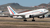 French Air Force Airbus A310 visited Tenerife Reina Sofia title=