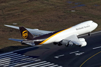 N618UP - UPS - United Parcel Service Boeing 747-8F