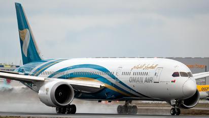 A40-SD - Oman Air Boeing 787-9 Dreamliner