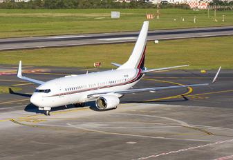 N721UF - Private Boeing 737-700 BBJ