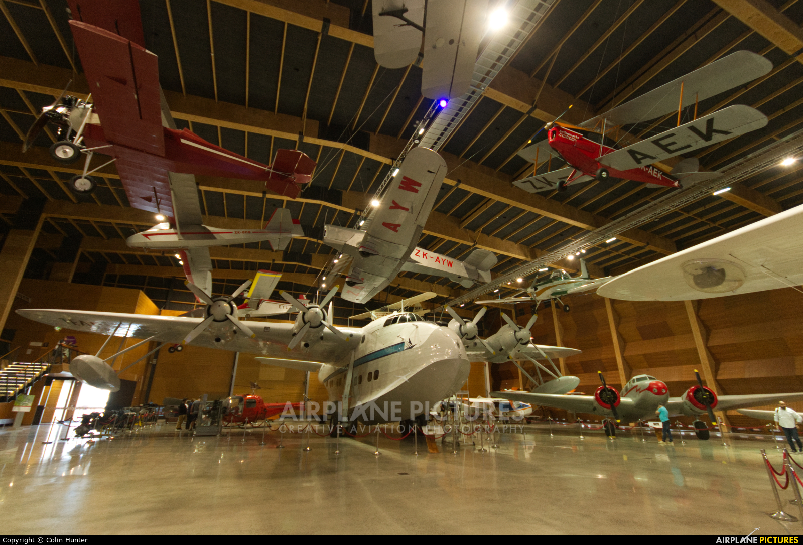 Tasman Empire Airways Ltd(TEAL) ZK-AMO aircraft at Off Airport - New Zealand