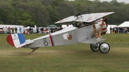 G-BWMJ - Private Nieuport 17/23 Scout