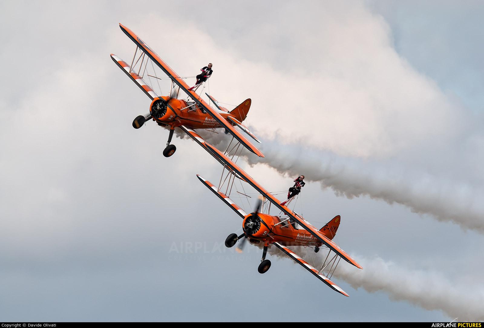 AeroSuperBatics G-IIYI aircraft at Duxford