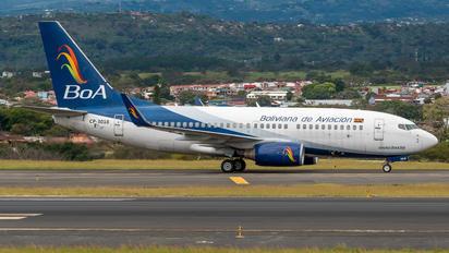 CP-3018 - Boliviana de Aviación - BoA Boeing 737-700