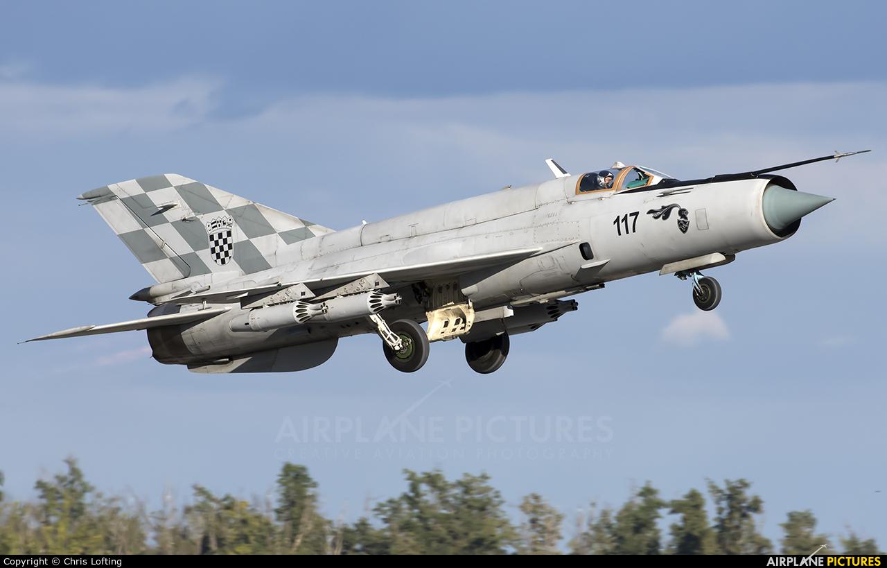 Croatia - Air Force 117 aircraft at Zagreb