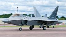 08-4163 - USA - Air Force Lockheed Martin F-22A Raptor aircraft