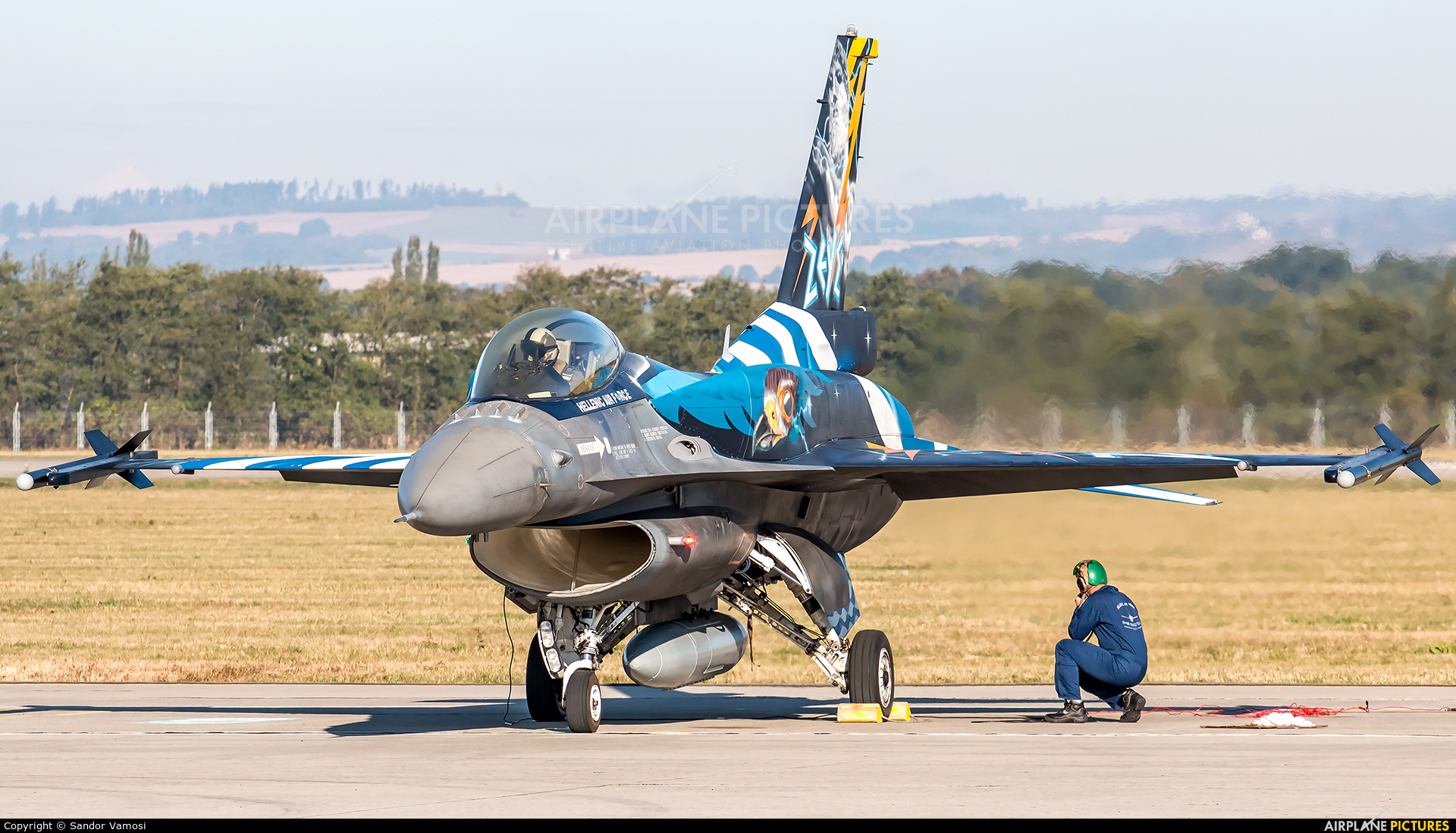 Greece - Hellenic Air Force 523 aircraft at Ostrava Mošnov