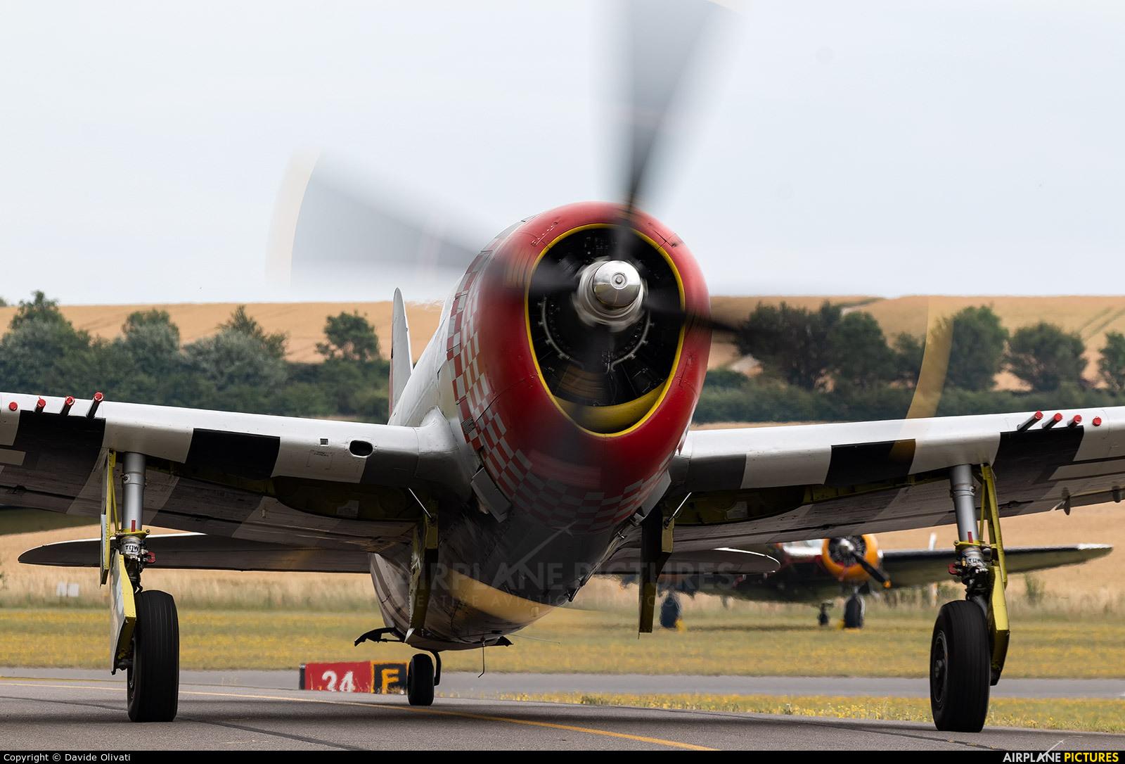 Private G-THUN aircraft at Duxford