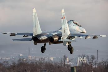RF-81700 - Russia - Air Force Sukhoi Su-30SM