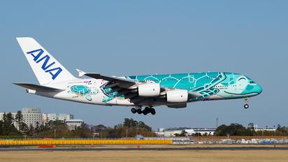 JA382A - ANA - All Nippon Airways Airbus A380