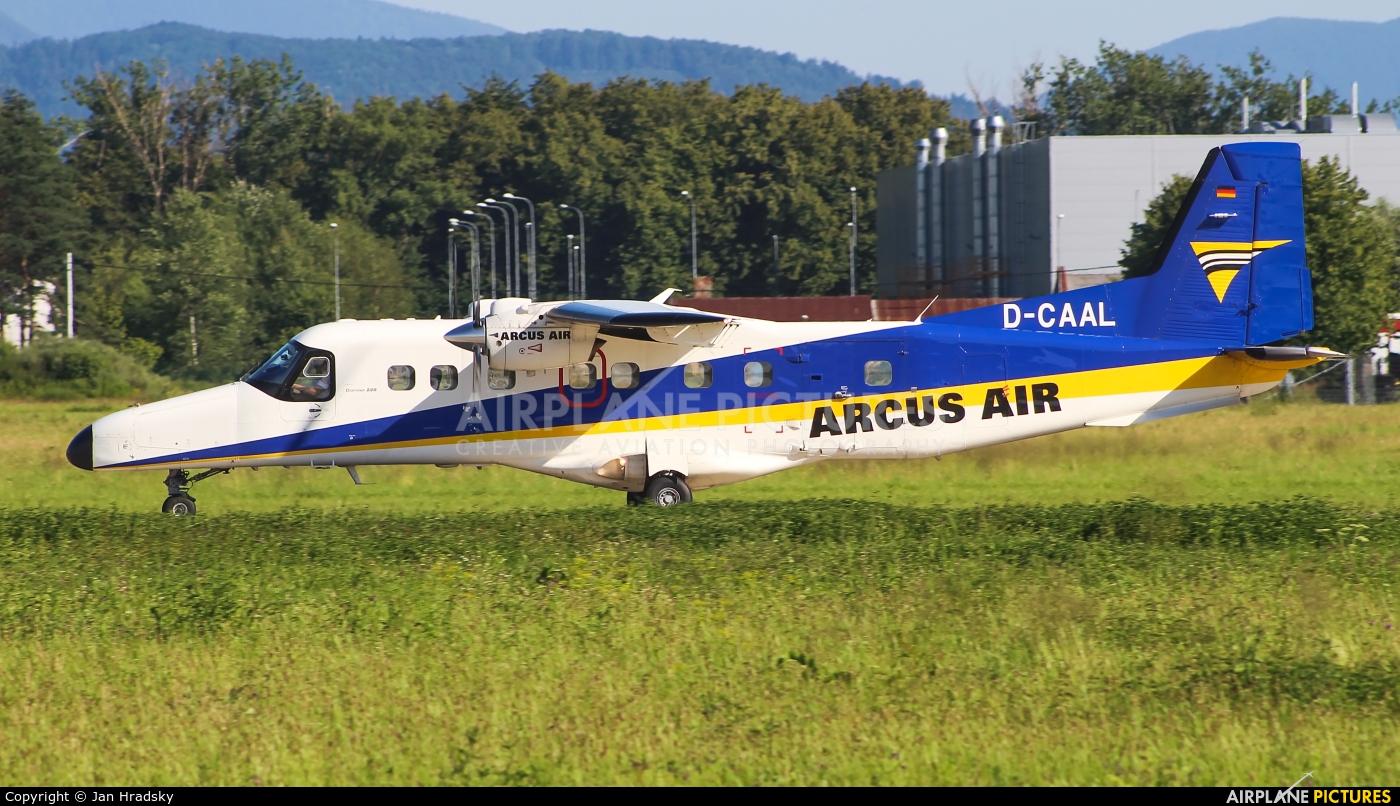 Arcus Air D-CAAL aircraft at Ostrava Mošnov