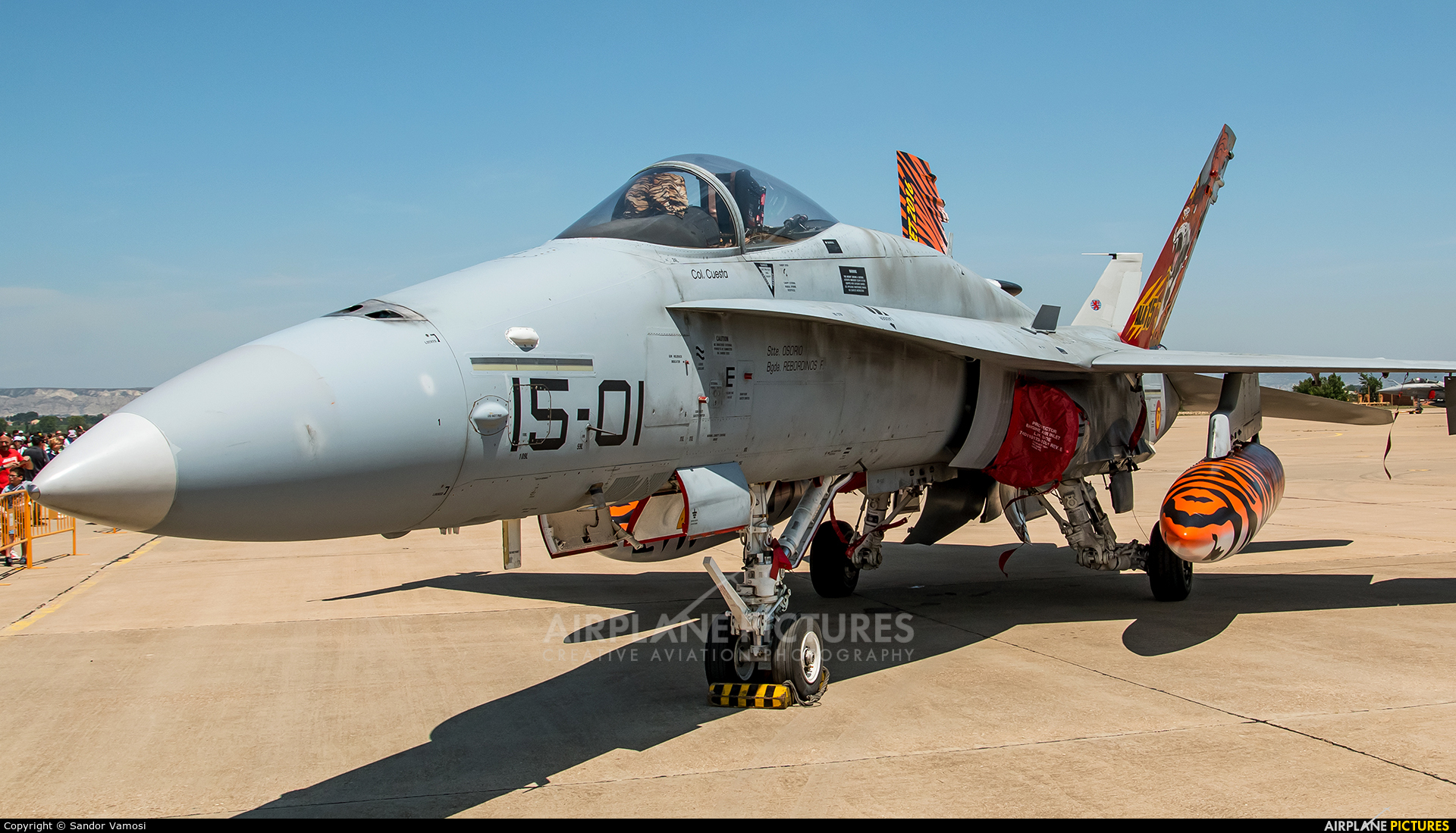 Spain - Air Force C.15-14 aircraft at Zaragoza