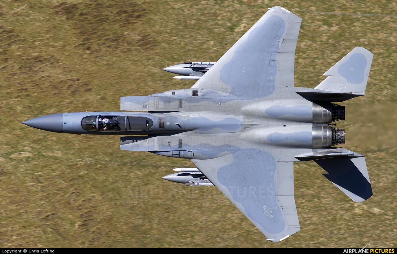 USA - Air Force 86-0171 aircraft at Bwlch Oerddrws - LFA 7