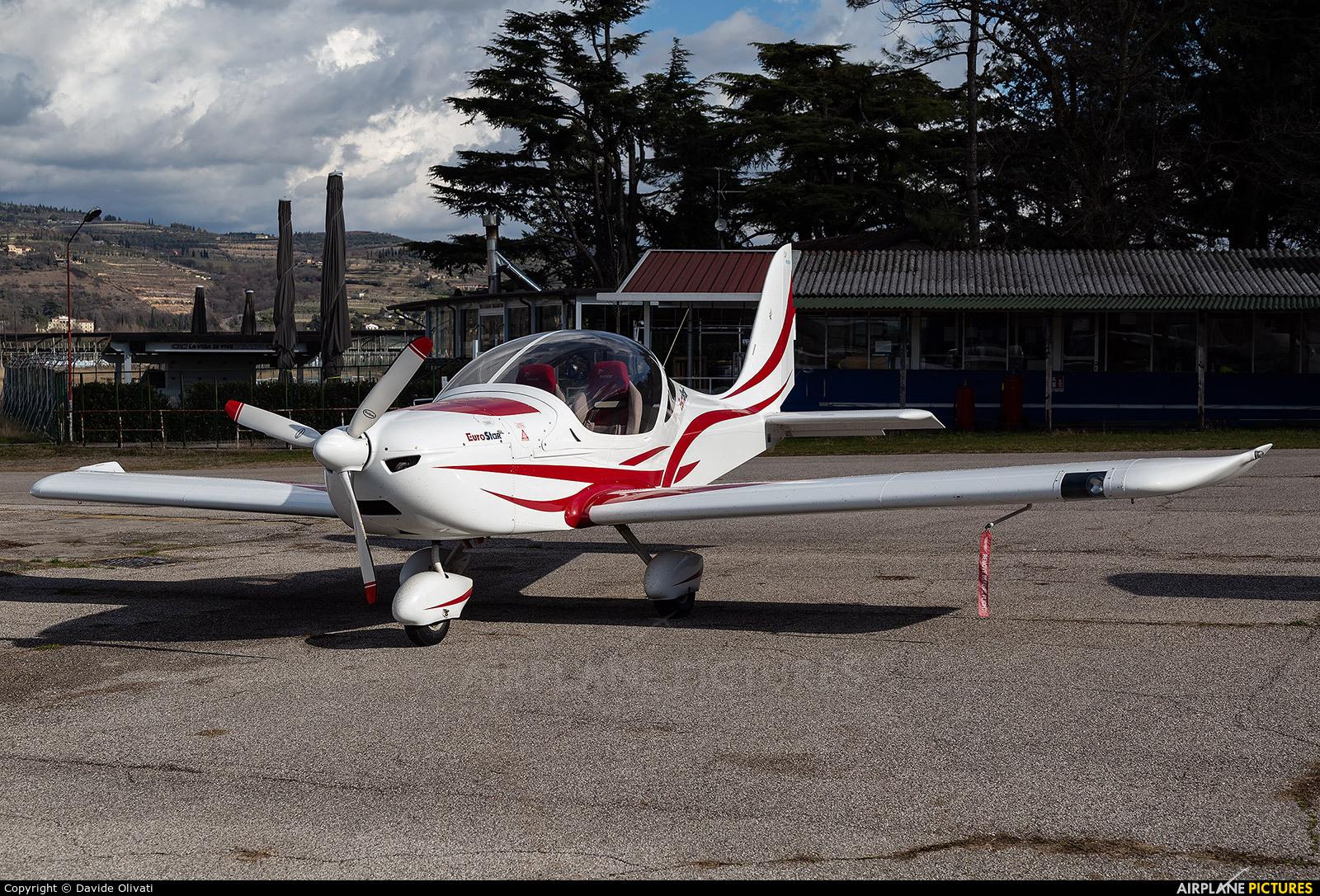 Private I-A884 aircraft at Verona - Boscomantico