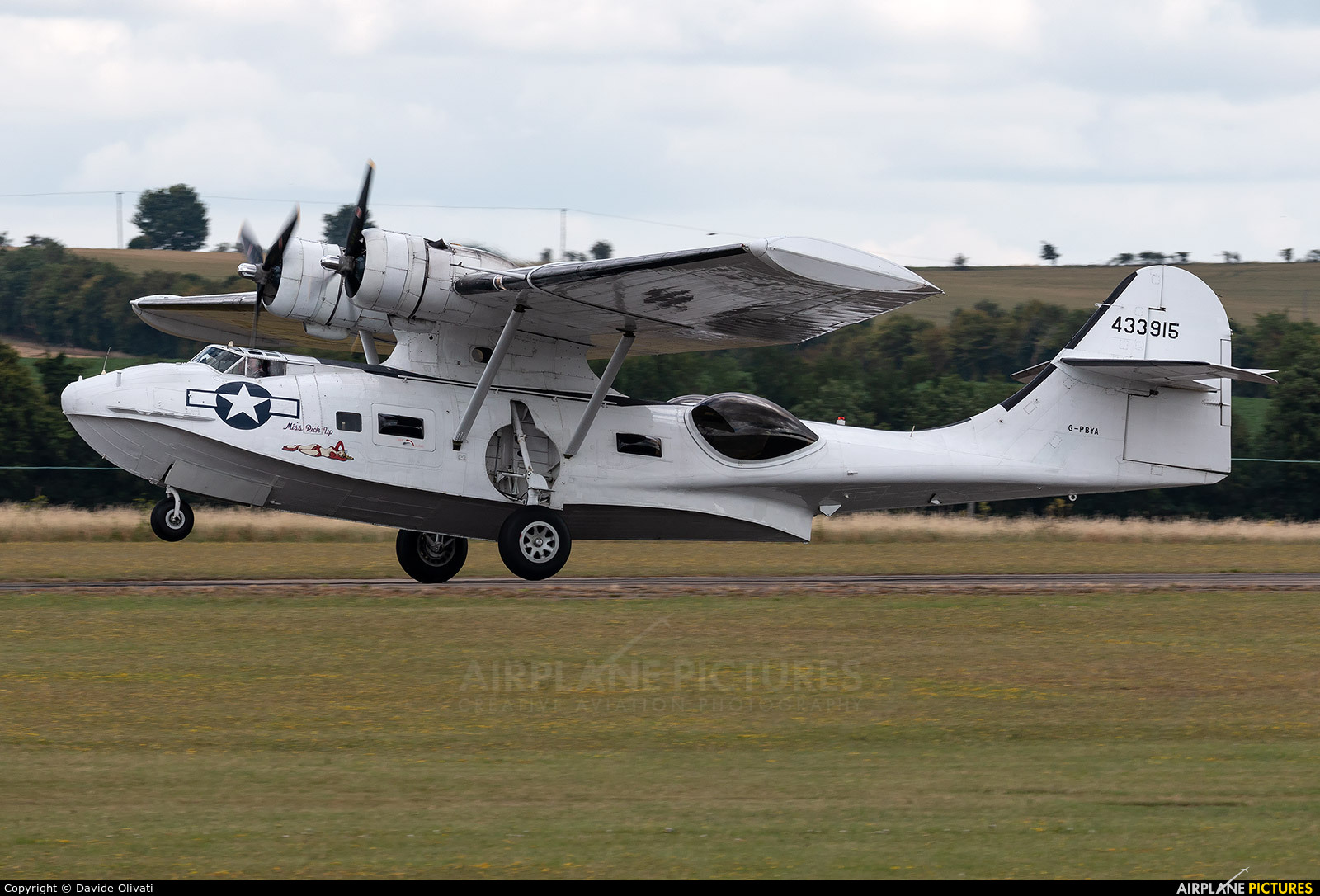 Catalina Aircraft G-PBYA aircraft at Duxford
