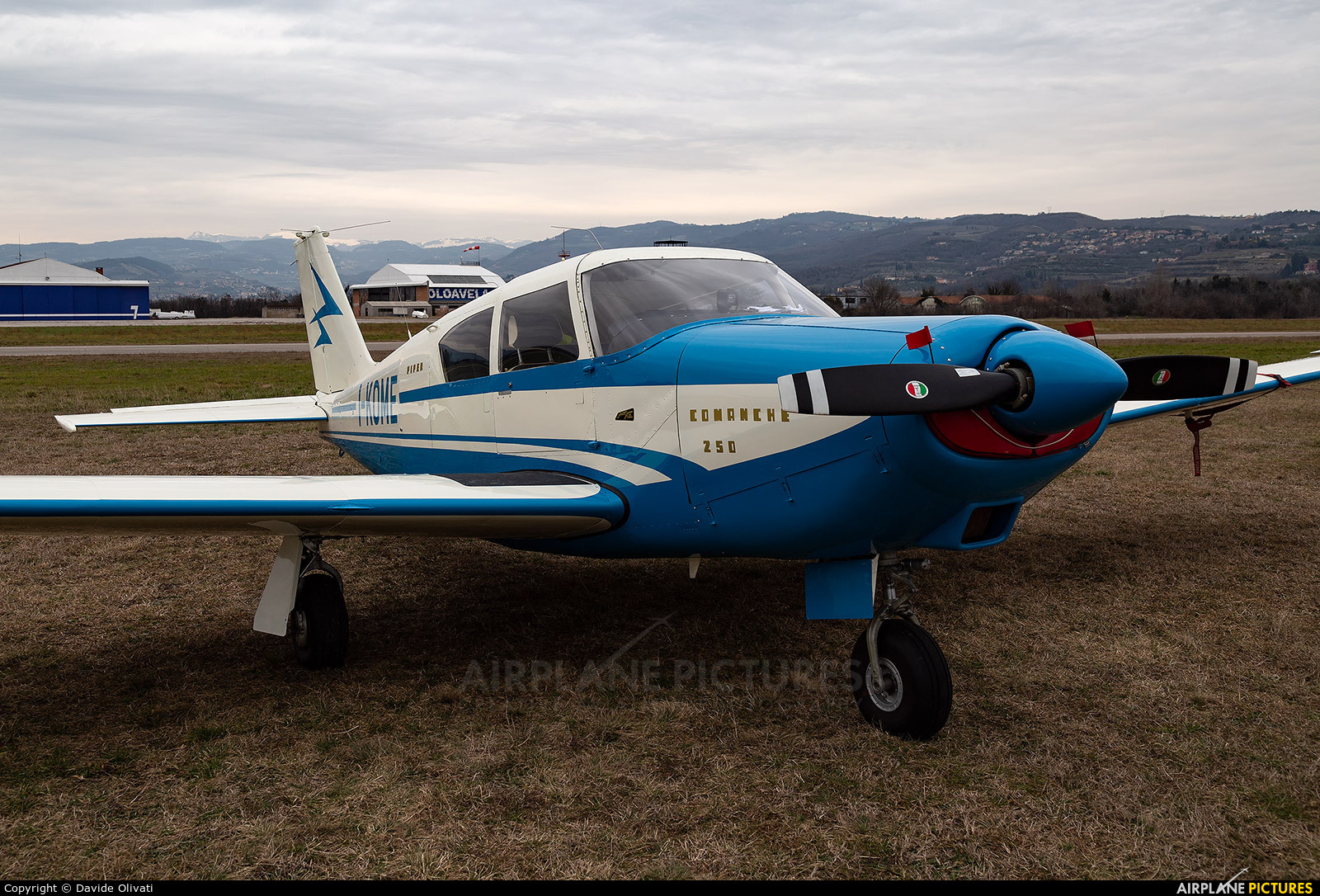 Private I-KOME aircraft at Verona - Boscomantico