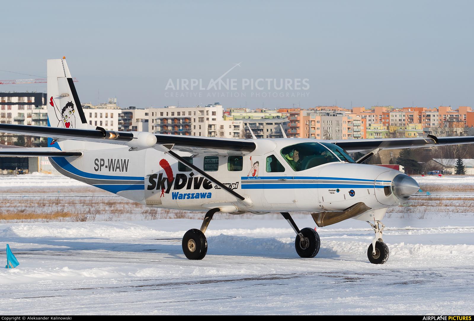 Aeroklub Warszawski SP-WAW aircraft at Warsaw - Babice