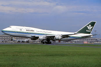 HZ-AIT - Saudi Arabian Airlines Boeing 747-300