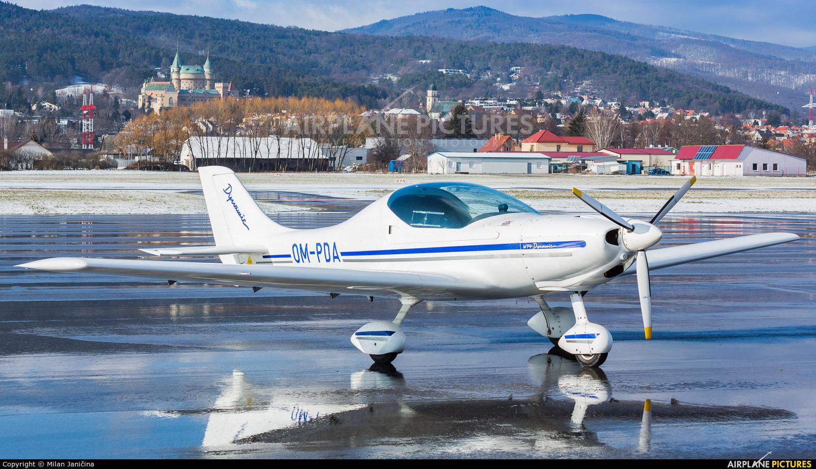 Aeroklub Prievidza OM-PDA aircraft at Prievidza