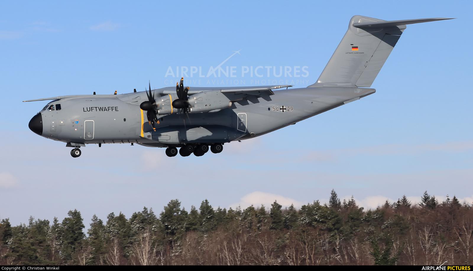 Germany - Air Force 54+29 aircraft at Wunstorf