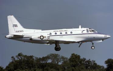 159363 - USA - Navy North American CT-39G Sabreliner