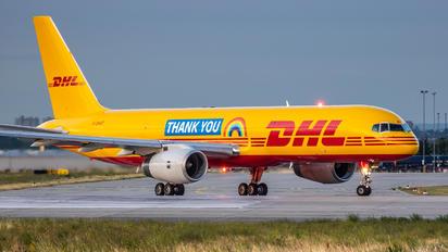 G-DHKF - DHL Cargo Boeing 757-200